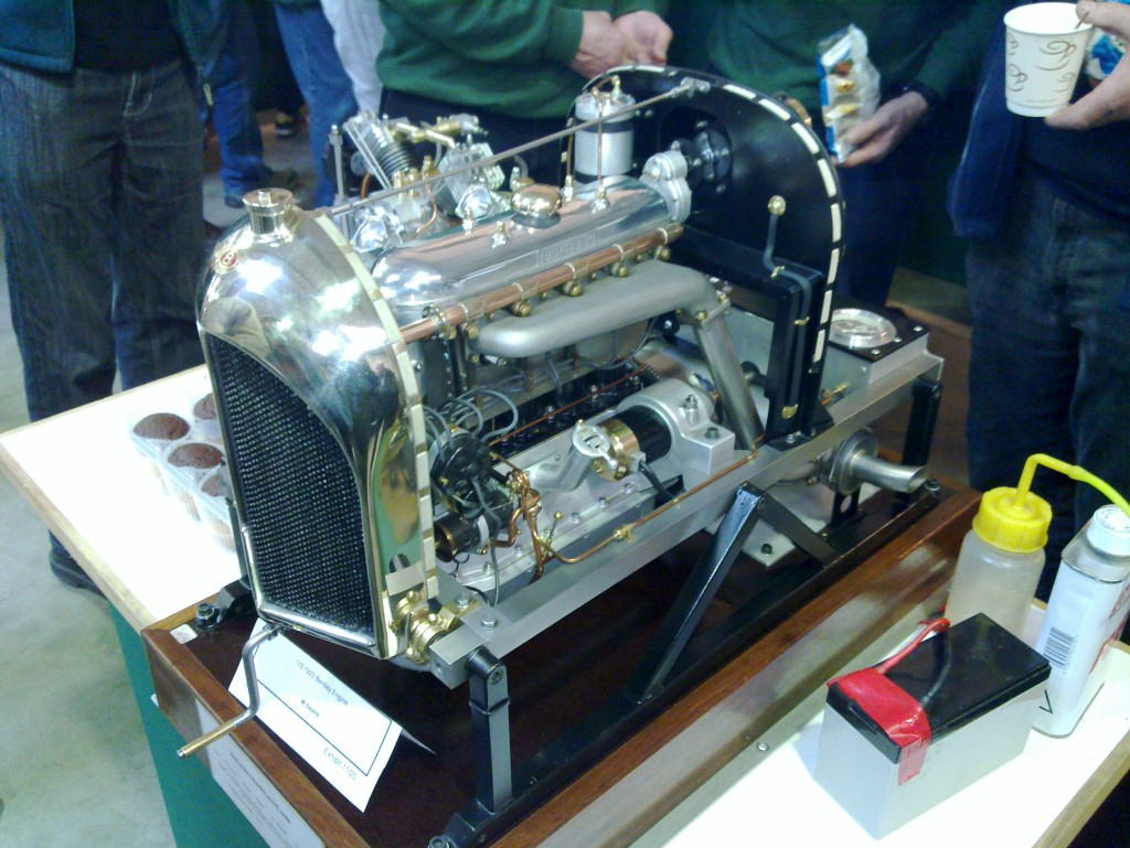 Scale Bentley Engine