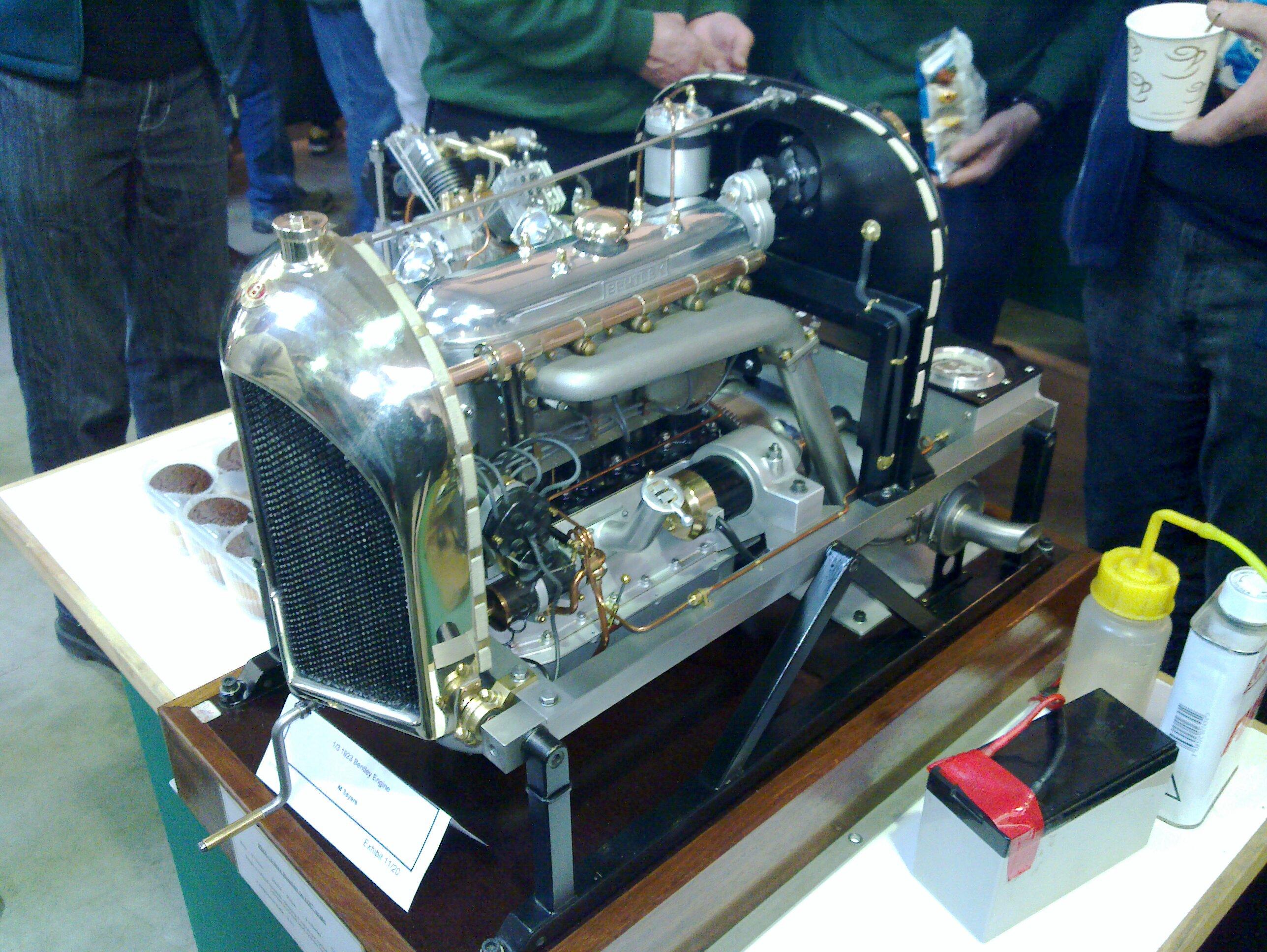 Scale Bentley Engine
