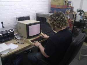 Shinaku goes back to the 80's with a BBC Micro