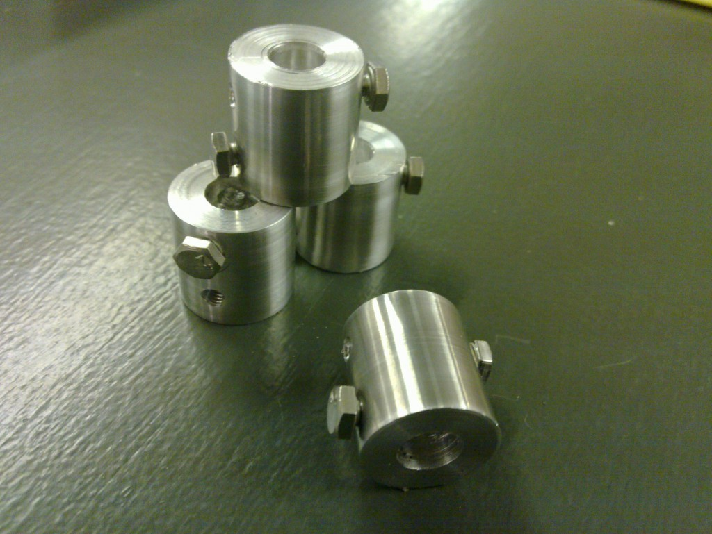 MendelMax Shaft Couplers
