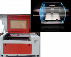 Laser cutter and 3d Printer