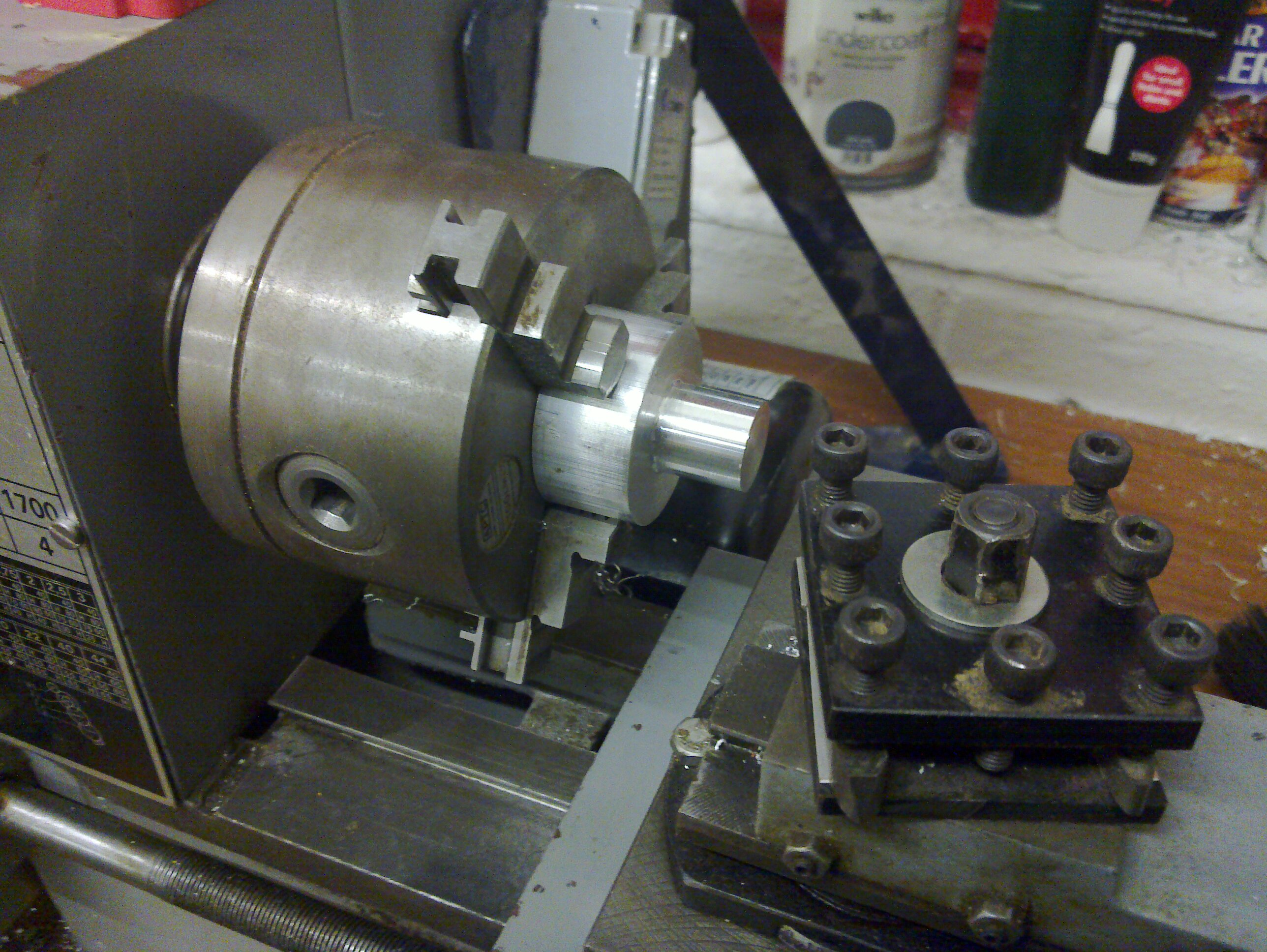 First job in the lathe