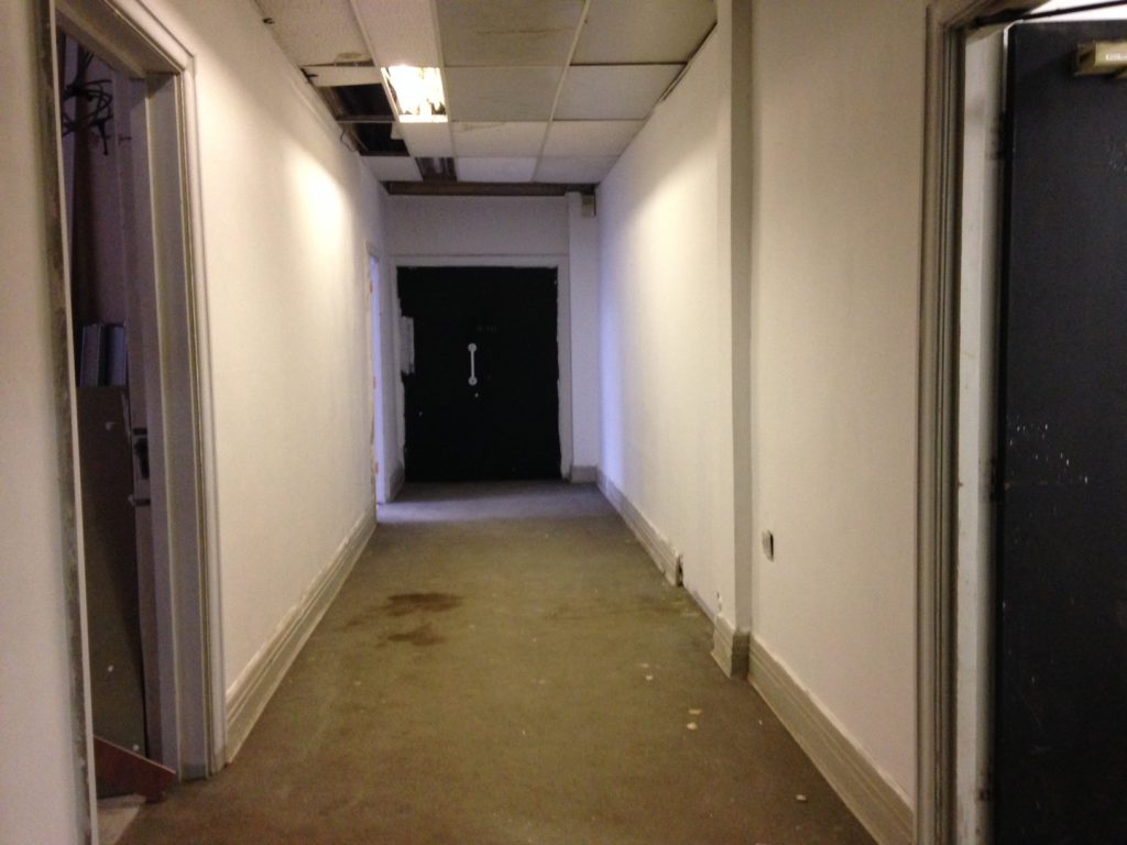 Back Corridor