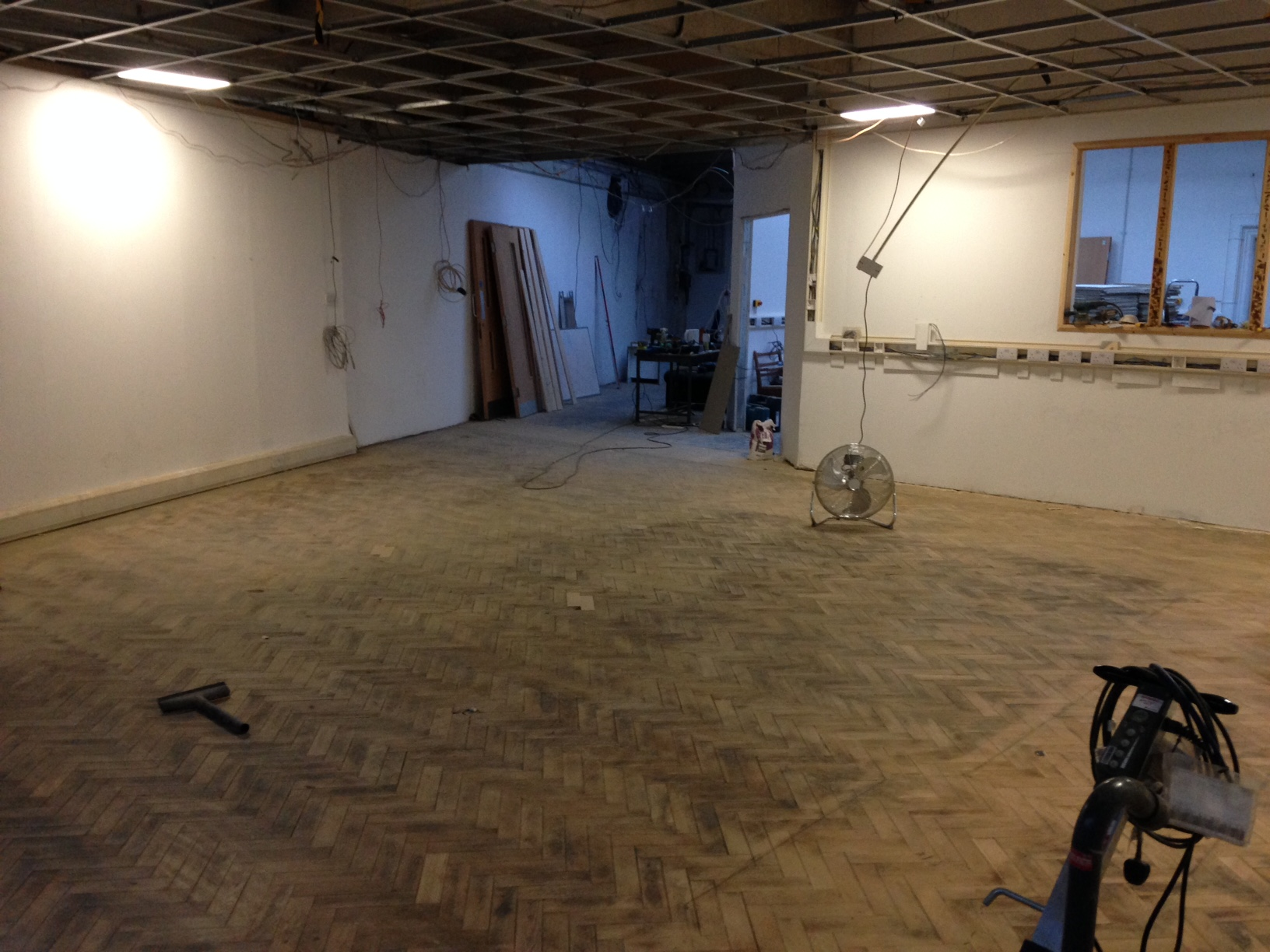 Sanded Main Space Floor