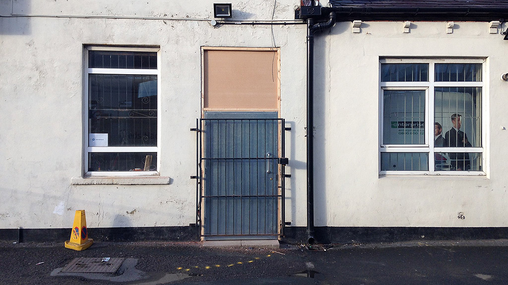 Leeds Hackspace New Front Door